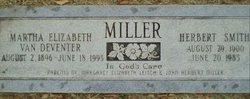 Martha Elizabeth <i>Van Deventer</i> Miller