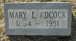 Mary E Adcock
