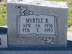 Fannie Myrtle <i>Bradley</i> Bowen