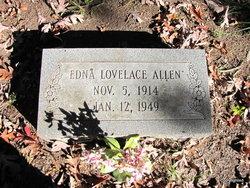 Mrs Edna <i>Lovelace</i> Allen