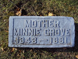 Willemina Minnie <i>Malcha</i> Grove