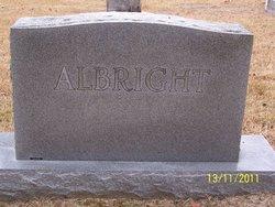 Edna <i>Robertson</i> Albright