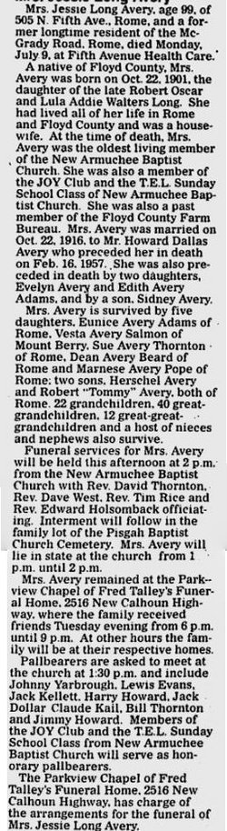 Robert Jessie <i>Long</i> Avery