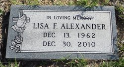 Lisa Faye Alexander