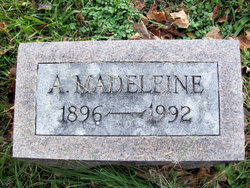 A Madeleine Baxter