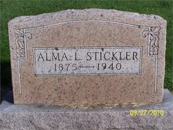 Alma L <i>Scott</i> Stickler