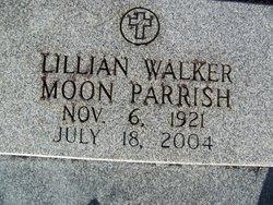 Lillian Eva <i>Walker</i> Moon - Parrish