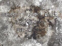 Hubert Howell Bailey
