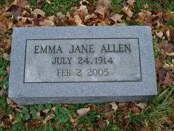Emma Jane <i>Hodson</i> Allen