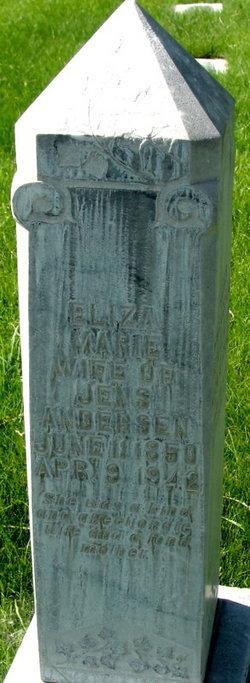 Eliza Marie <i>Hansen</i> Andersen