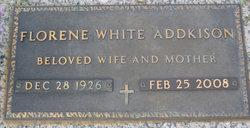 Margie Florene <i>White</i> Addkison