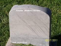 Louise Louisa <i>Walker</i> Barney