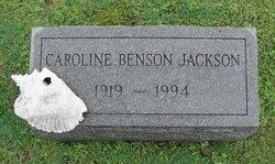 Caroline <i>Benson</i> Jackson