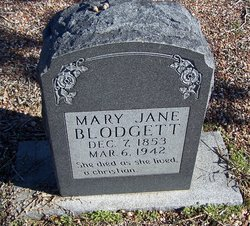 Mary Jane <i>Eakin</i> Blodgett