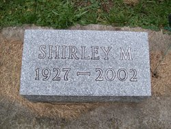 Shirley M <i>Slama</i> Amberg