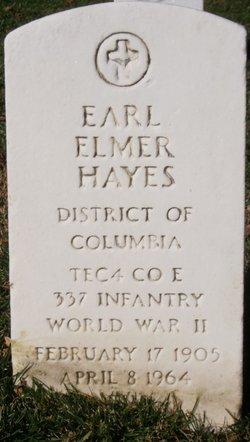 Earl Elmer Hayes