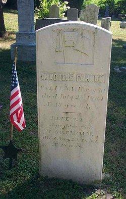 Pvt Thaddeus Ford Farnham
