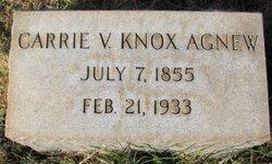 Carrie V. <i>Knox</i> Agnew