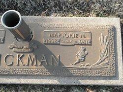 Marjorie Marion <i>Krosch</i> Dickman