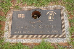 Mary W Russell
