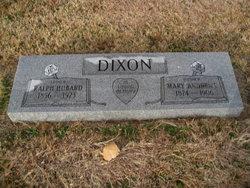 Ralph Hubbard Dixon