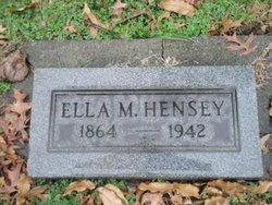 Ella M <i>Hansell</i> Hensey