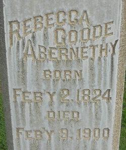 Rebecca <i>Goode</i> Abernethy