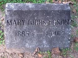 Mary <i>Gibbs</i> Edson