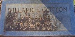 Willard Edward Cotton