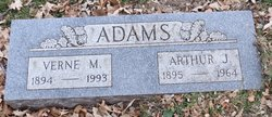 Arthur J Adams