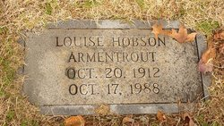 Louise <i>Hobson</i> Armentrout