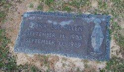 Dora Lee Allen