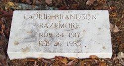 Laurie <i>Brandson</i> Bazemore