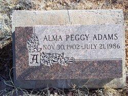 Alma Peggy Adams