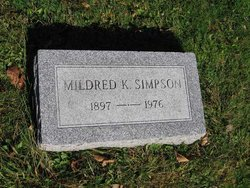 Mildred Katherine <i>Harrod</i> Simpson