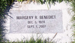 Margery R Benedict