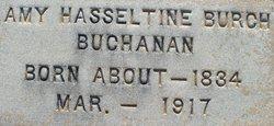Amy Hasseltine <i>Burch</i> Buchanan
