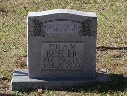 Mrs Zella M. Beeler
