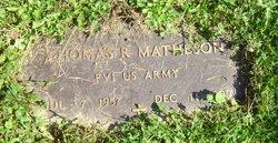 Thomas R Matheson