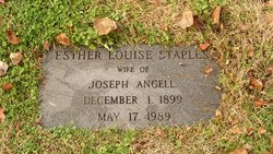 Esther Louise <i>Staples</i> Angell