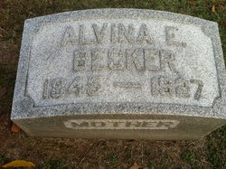 Alvina E <i>Mathias</i> Becker