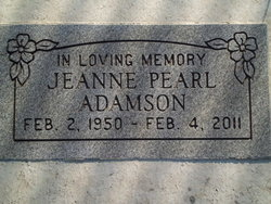 Jeanne Pearl Adamson
