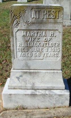 Martha <i>Rogers</i> Blackwelder