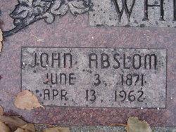 John Abslom Whitesides