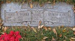 Alice Francis <i>Woolf</i> Adams
