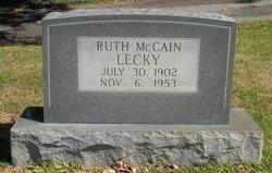 Ruth <i>McCain</i> Lecky