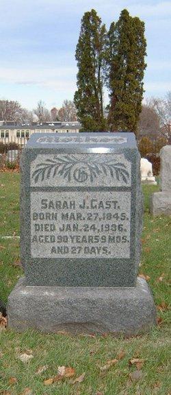 Sarah J <i>Mullen</i> Gast
