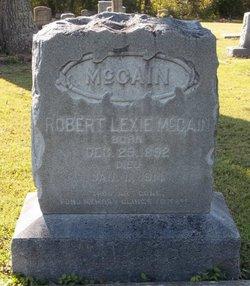 Robert Lexie McCain