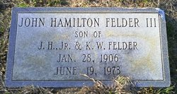 John Hamilton Felder, III