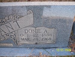Donie A Fant